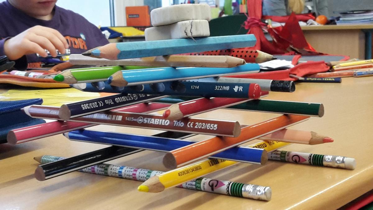 Kann aus Schulsachen Kunst entstehen?