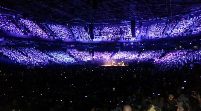 """Bildungshaus-Chor bei """"Young Voices"""" in der Barclaycard-Arena"""