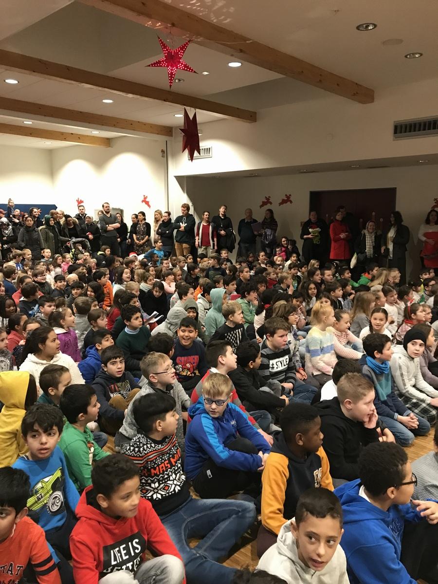 Mandelduft liegt in der Luft…- Nikolaustag im Bildungshaus Lurup