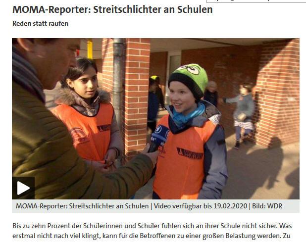 Unsere Streitschlichter im ARD Morgenmagazin